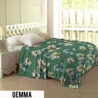 Selimut Lady Rose Terlaris bulu halus uk 160x200 motif Gemma
