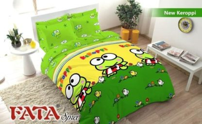 Sprei King FATA Signature Keroppi And Duck