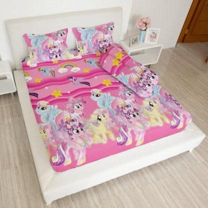 Sprei Lady Rose 160x200 Queen terlaris Little Pony