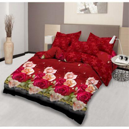 Bed Cover King Set LADY ROSE Motif SANDRA