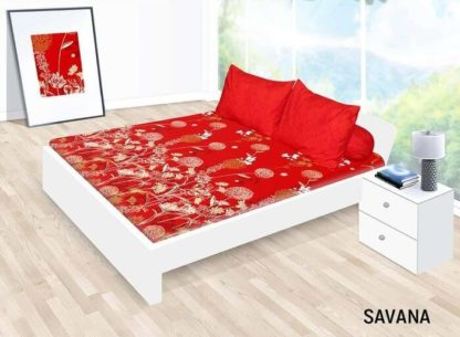 Sprei California Queen Motif Savana
