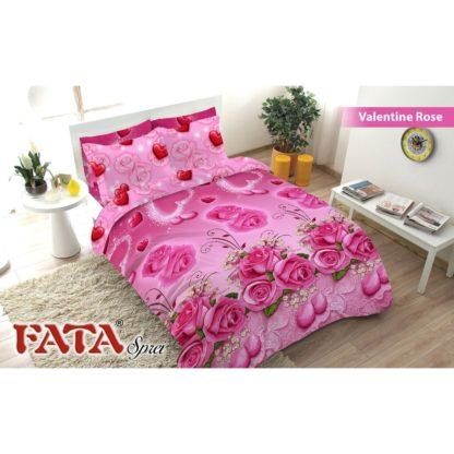 Sprei Queen FATA Signature Valentine Rose