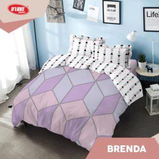 Bed Cover Queen Kintakun Santika Deluxe / D'luxe Brenda