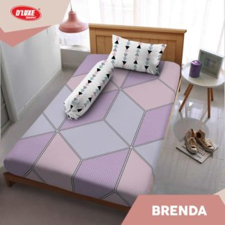 Sprei Single Kintakun 3D Deluxe / Dluxe Terbaru Brenda