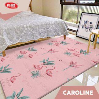 Karmut Terlaris - Karpet Selimut Kintakun Uk 150x200 cm - Caroline