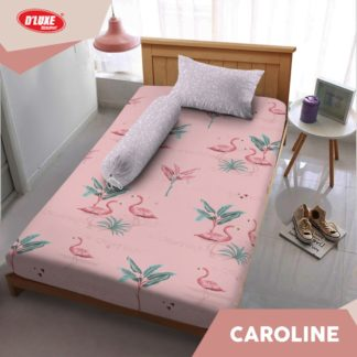 Sprei Kintakun Single 120x200 Tinggi 30 Spesial 3D D'luxe - Caroline