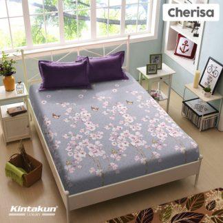 Sprei King Kintakun Luxury Super Soft Microfiber (5in1) tinggi 30 cm - Cherisa