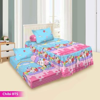 Sprei Single 2in1 Vito Rosanna Sorong - Chibi BTS