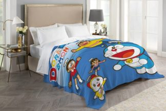 Selimut ASLI INTERNAL Terlaris Uk 160x200 cm - DORAEMON & FRIENDS