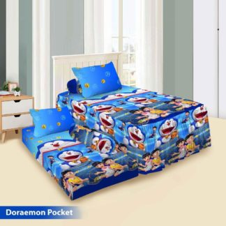 Sprei Single 2in1 Vito Rosanna Sorong - Doraemon Pocket