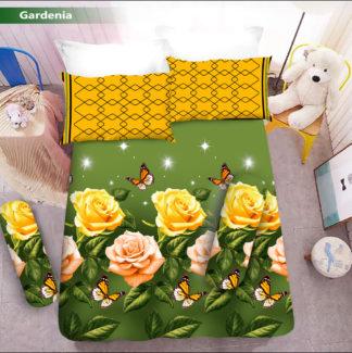 Sprei 3D King NEW VITO motif Gardenia