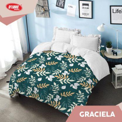 Bed Cover King Kintakun Santika Deluxe / D'luxe Graciela
