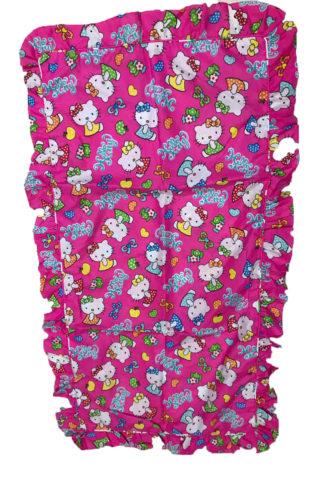 Sarung Bantal Imut Katun CVC Hello Kitty Candies PINK