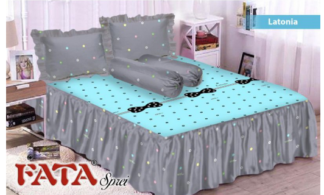 FATA - Sprei Rumbai King terlaris Latonia