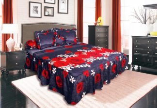 Sprei Rumbai King California motif Rosalinda