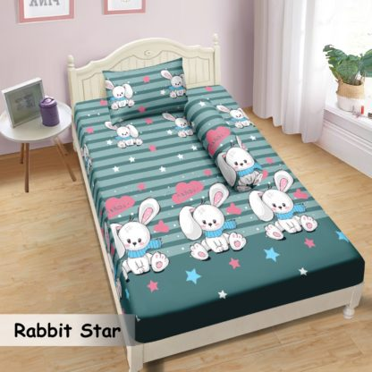 Sprei Lady Rose 100x200 Small Single terlaris Rabbit Star