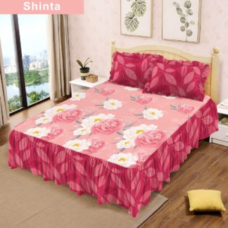 Sprei RUMBAI Lady Rose 180x200 King terlaris Motif Shinta