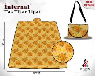 Internal Tas Tikar Lipat PVC Uk 180x150 cm - Midori