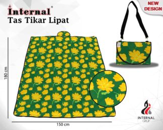 Internal Tas Tikar Lipat PVC Uk 180x150 cm - Hanara