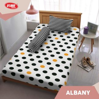Sprei Small Single Kintakun 3D Deluxe / Dluxe 100x200 Albany