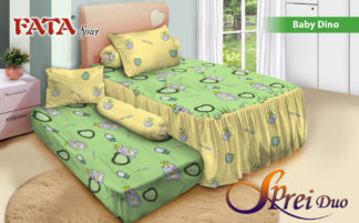 Sprei Single 2in1 terbaru FATA Baby Dino
