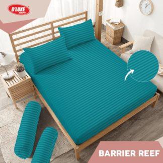 Sprei King Kintakun Polos Embosed Deluxe / D'luxe Barrier Reef