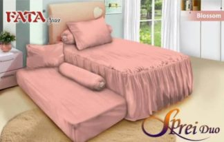 Sprei Single 2in1 terbaru FATA Blossom