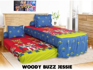 Sprei Single 2in1 California Sorong - Toy Story 4