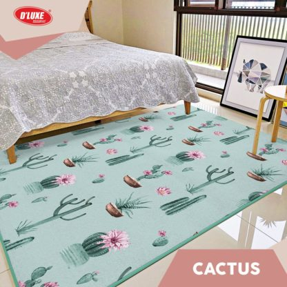 Karmut Terlaris - Karpet Selimut Kintakun Uk 150x200 cm - Cactus