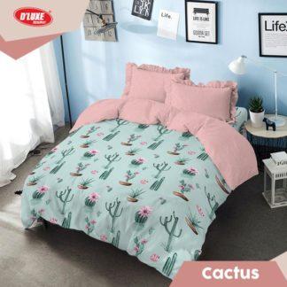 Bed Cover King Kintakun Santika Deluxe / D'luxe Cactus