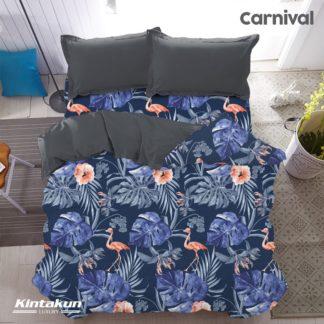 Bed Cover AJA Kintakun Luxury Super Soft Microfiber 230 x 217 cm - Carnival
