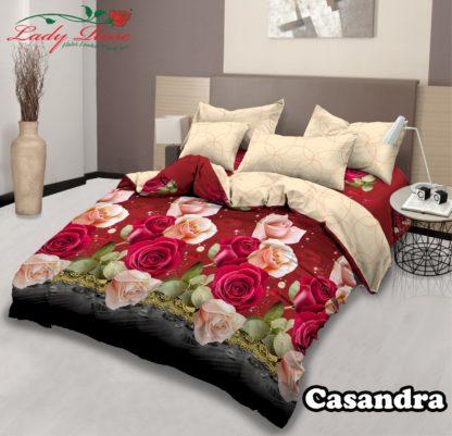 Sprei Lady Rose 200x200 Extra King terlaris Sandra
