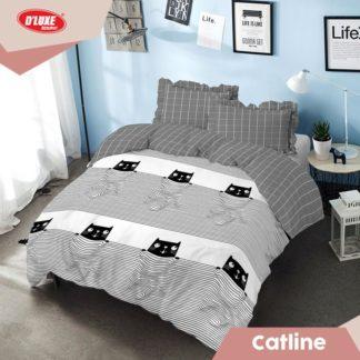 Bed Cover King Kintakun Santika Deluxe / D'luxe Catline