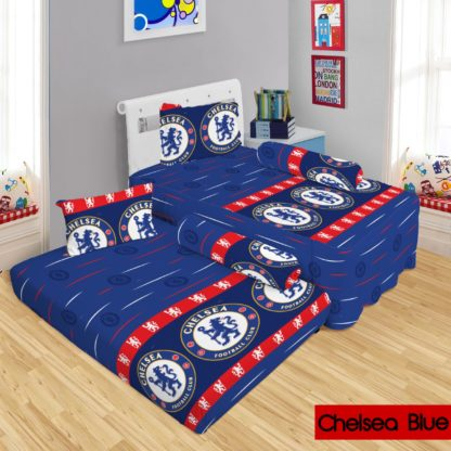 Lady Rose - Sprei 2in1 Lady Rose Sorong Motif Chelsea Blue