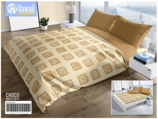 Sprei Rumbai HAWAI King 180x200 terlaris motif Choco
