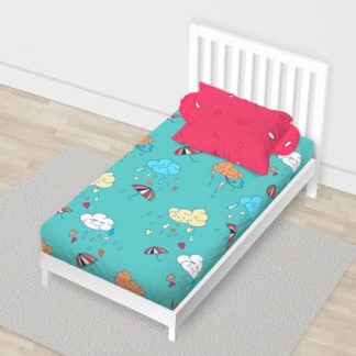 Sprei California Disperse Uk 120x200 Single - Cloud