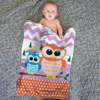 Selimut Internal Baby 75x100cm - OWL