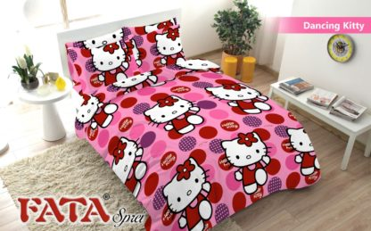 Sprei King FATA Signature Dancing Kitty