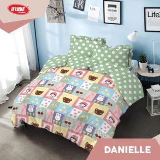 Bed Cover King Kintakun Santika Deluxe / D'luxe Danielle