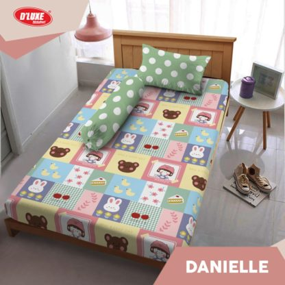 Sprei Kintakun Singlen 120x200 Tinggi 30 Spesial 3D D'luxe - Danielle