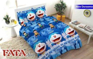 Sprei Single FATA Signature Doraemon Stand By Me