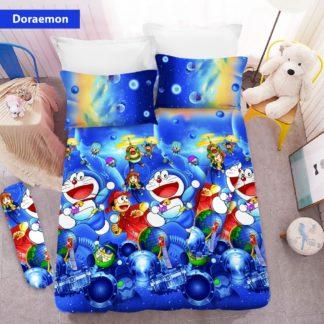 Sprei 3D King NEW VITO motif Doraemon