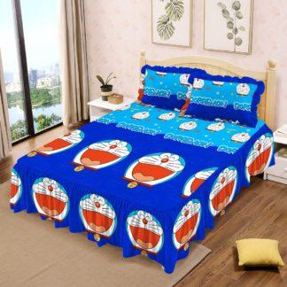 Sprei RUMBAI Lady Rose 180x200 King terlaris Motif Doraemon