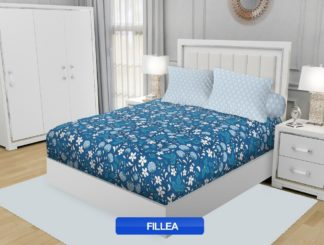 Sprei California King Motif Fillea (BIRU)