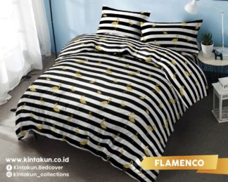 Kintakun Gold Edition Selimut Comforter / Bed Cover Only Uk 230x240 - Flamenco (Flamingo)