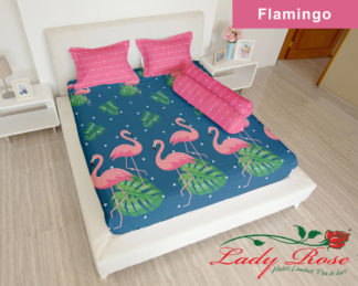 Sprei Lady Rose 180x200 King terlaris FLAMINGO (LR)