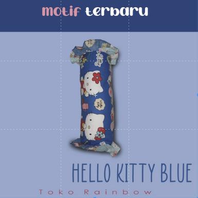 Bantal Gendang Set - Hello Kitty Blue