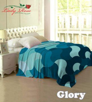 Selimut Lady Rose Terlaris bulu halus uk 160x200 motif Glory
