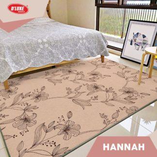 Karmut Terlaris - Karpet Selimut Kintakun Uk 150x200 cm - Hannah