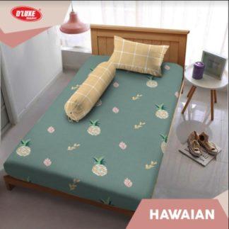 Sprei Kintakun Single 120x200 Tinggi 30 Spesial 3D D'luxe - Hawaian